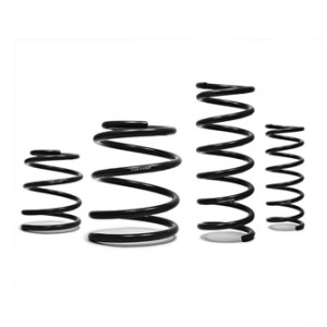 Cobb Lowering Springs give your Subaru a more aggressive stance and better cornering ability